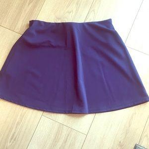 BCBGeneration Purple Mini Skirt